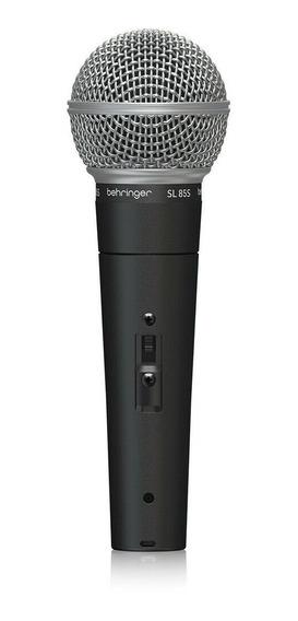 Microfone Sl 85s Behringer Com Chave Seletora On Off Nfe