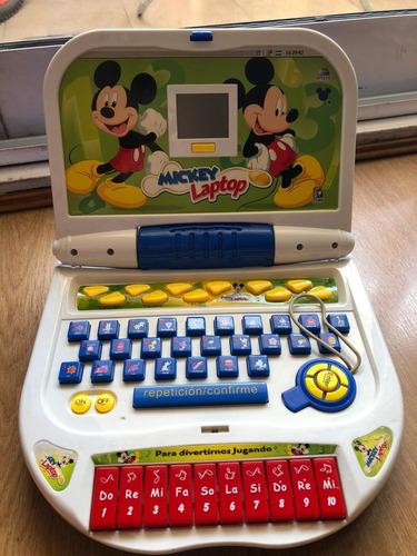 Computadora Laptop Disney Mickey Portatil
