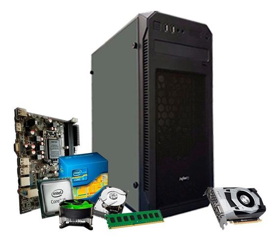 Pc Gamer I5 3.4 Ghz, 8gb Ram, 1tb, 2gb 1030 Gt + Nfe