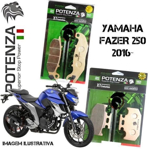 Pastilha Freio Dianteiro Traseiro Fazer 250 2018 Abs 152 375