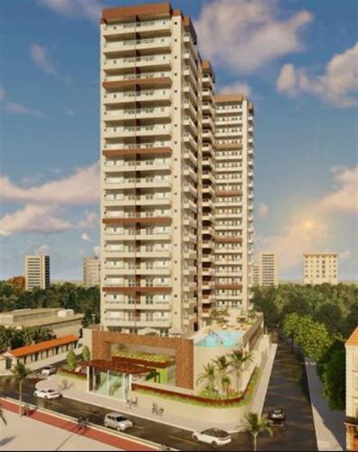 Apartamento, 2 Dorms Com 75.65 M² - Mirim - Praia Grande - Ref.: Ctm688 - Ctm688