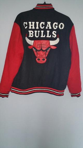 Chamarra Chicago Bulls Talla L Vintage/usada Original U.s.a