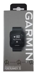 Reloj Gps Para Running Garmin Forerunner 35 Negro Jr Joyas