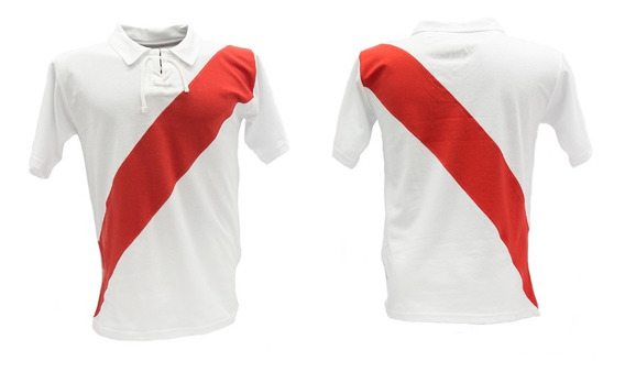 Camiseta De Futbol Retro De River