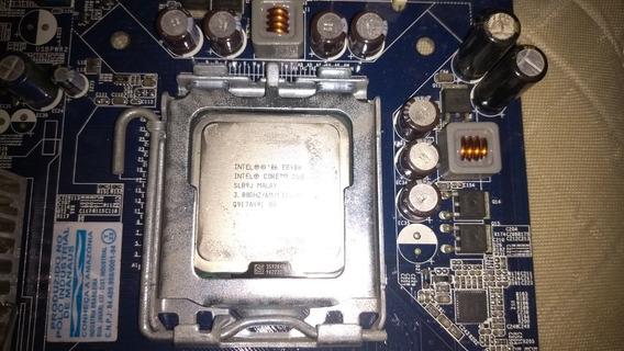 Kit 4gb(2x2) Ddr2 667mhz+core 2 Duo E8400+placa Mãe Pw945gcl