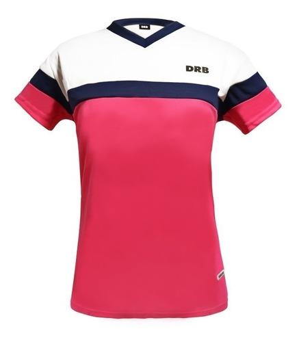 2c1a63745 Camiseta Futbol Rosa Negro - Camisetas de Adultos Fucsia en Mercado ...