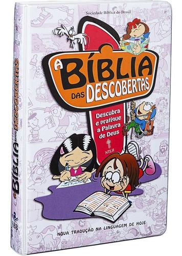 Imagem 1 de 6 de Bíblia De Estudo Das Descobertas Crianças E Pré-adolescentes