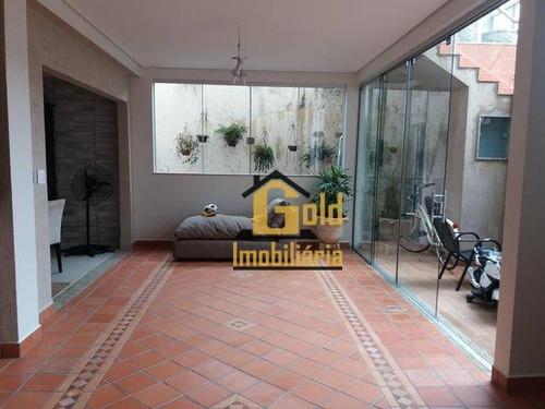 Casa Sobrado Com 4 Dormitórios Para Venda, 400 M² Por R$ 700.000,00/ - Jardim Botânico - Ribeirão Preto/sp - Ca0776