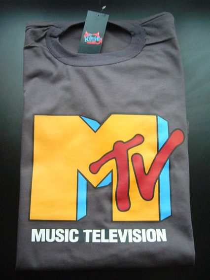 Remeras Mtv Musica Rock Estampadas Retro 80 *mr Korneforos*