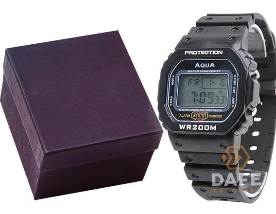 Relógio Aqua Gp519 Masculino Digital C/ Garantia Caixa E Nf
