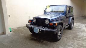 Jeep Wrangler Año 2002 Legalizado 4x4 Con A/a