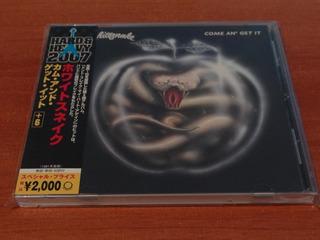 Whitesnake Come An´ Get It Cd Japones 2007 6 Bonus Tracks