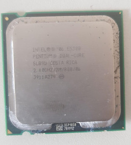 Processador Intel Dual Core E5300 2,60ghz Testada