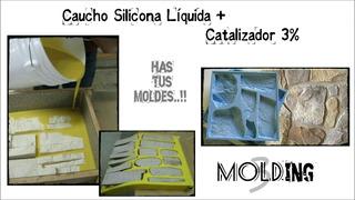 Caucho Silicona Liquida 250g Para Moldes - Rtv2 Poliuretano