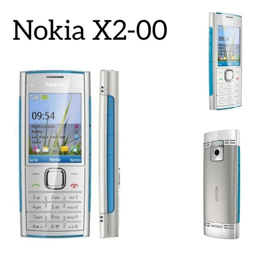 Nokia X2-00 Prata (na Caixa)