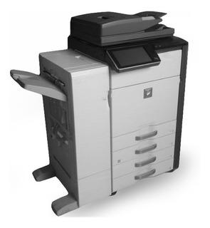 Copiadora Sharp Mx4141 Full Color 300grms Impresora Escaner