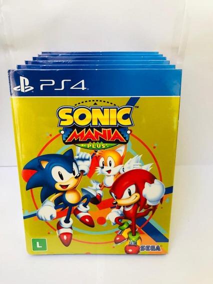 Sonic Mania Plus Ps4 Mídia Física
