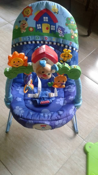 Silla Vibratoria Fisher Price (original)