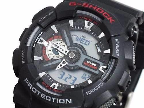 Relógio Casio G-shock Ga110-1acr Novo Na Caixa - Fotos Reais