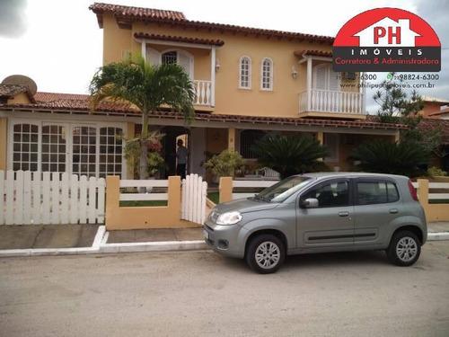 Casa Mobiliada Com Hidro - Cond. Casamares Margeado Pela Lagoa - 1239