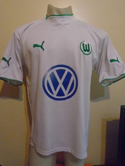 Camiseta Wolfburgo 2003 2004 D