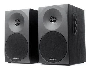 Microlab B70bt Parlante Bluetooth Estereo 20w Rms Box Madera