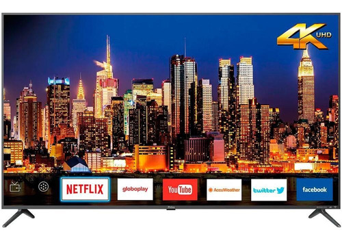 "Tv 58"" Led Philco 4k - Ultra Hd Smart - Ptv58f80sn"
