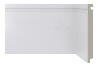Rodapé Em Poliestireno Moderna 480 Branco 15x240cm