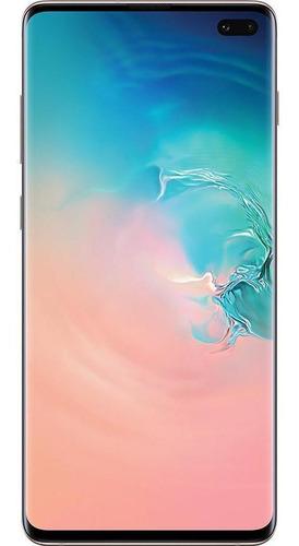 Imagem 1 de 4 de Celular Samsung Galaxy S10+ 128gb Branco Muito Bom