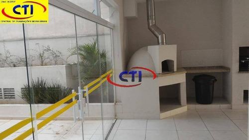 Apartamento Com 2 Dormitórios À Venda, 58 M² Por R$ 320.000,00 - Assunção - São Bernardo Do Campo/sp - Ap2451