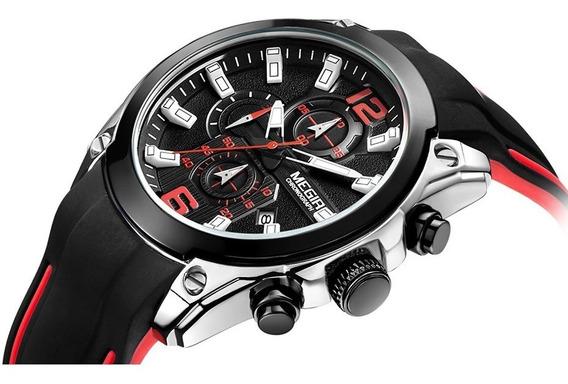 Relógio Masculino Megir Original Pronta Entrega Modelo 2063
