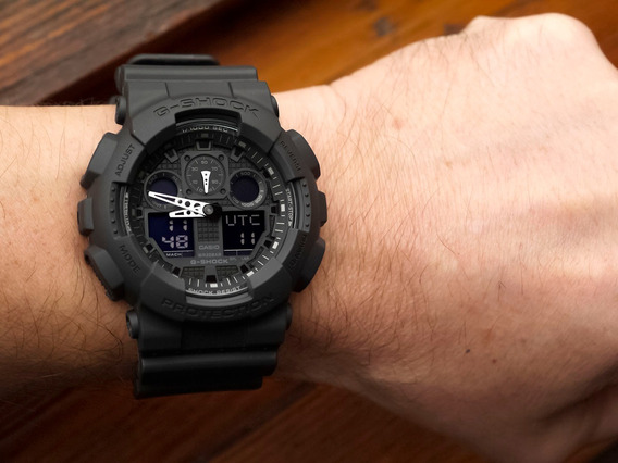 Reloj Casio G Shock Ga 100-1a1 Original 100%