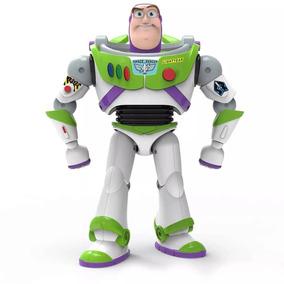 Boneco Buzz Lightyear Toy Story 4 - 25 Cm E Som Português