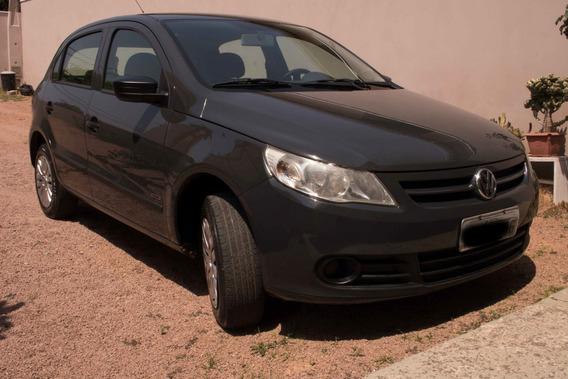 Volkswagen Gol, Geração V, Cinza Urano, 1.0 Flex, 2009/2009