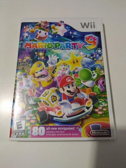 Jogo Mario Party 9 Original Para Nintendo Wii.