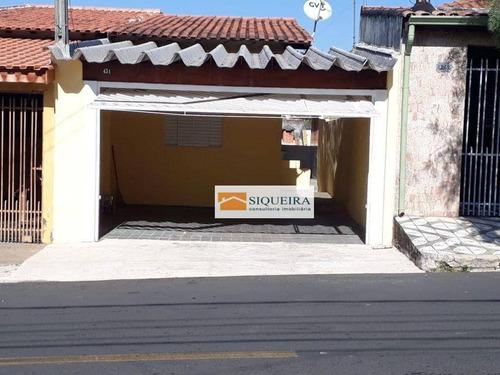 Imagem 1 de 9 de Casa Com 1 Dormitório À Venda, 110 M² Por R$ 220.000 - Parque Esmeralda - Sorocaba/sp - Ca2164