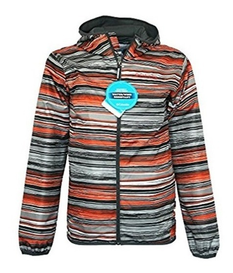 Columbia Campera Rompeviento Impermeable Omni Lv Importados