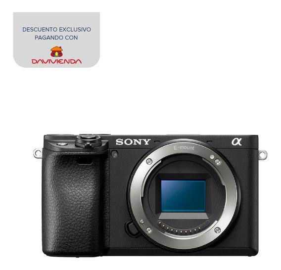 Cámara Profesional Sony De 24.2mp Y Videos 4k - Ilce-6400