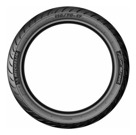 Cubierta Michelin Pilot Street 80/100 R14 M/c 49l Reinf R Tt