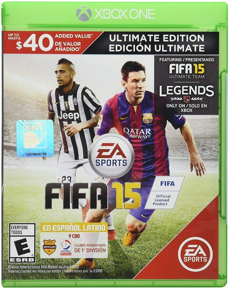Fifa 15 Espanhol Midia Fisica Xbox One Original