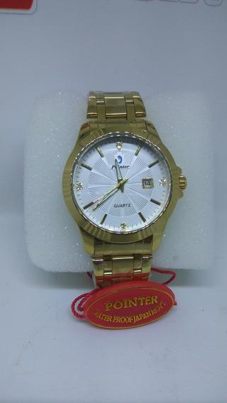 Relógio Original Banhado Ouro Chenxi Prova D