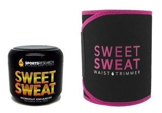 Sweet Sweat 99g + Cinta De Neoprene Pink Original