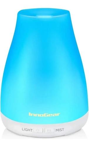 Imagen 1 de 6 de Difusor De Aceite Humidificador Innogear Aromaterapia Led