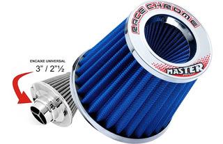Filtro Ar Esportivo Duplo Fluxo Azul Gol G3 G4 G5 G6 Rc51az