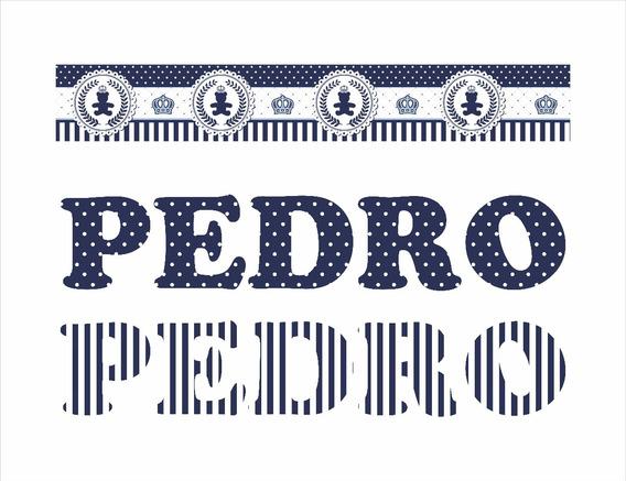 Letra Em Acrílico Estampada 9,5cm Altura 5 Unidades