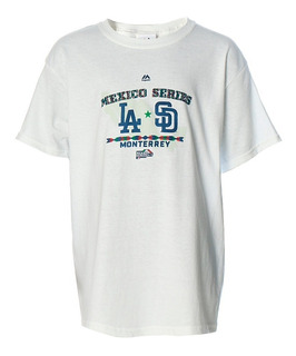 Playera Atletica Mlb Mexico Hombre Majestic Full Mj003