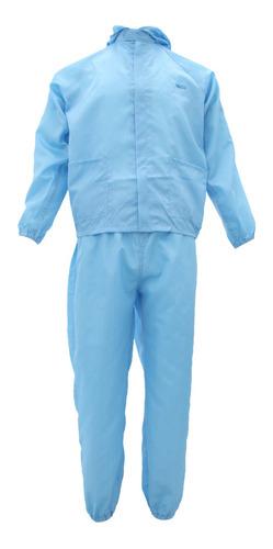 Roupas Limpas Sem Poeira De Laboratório Azul