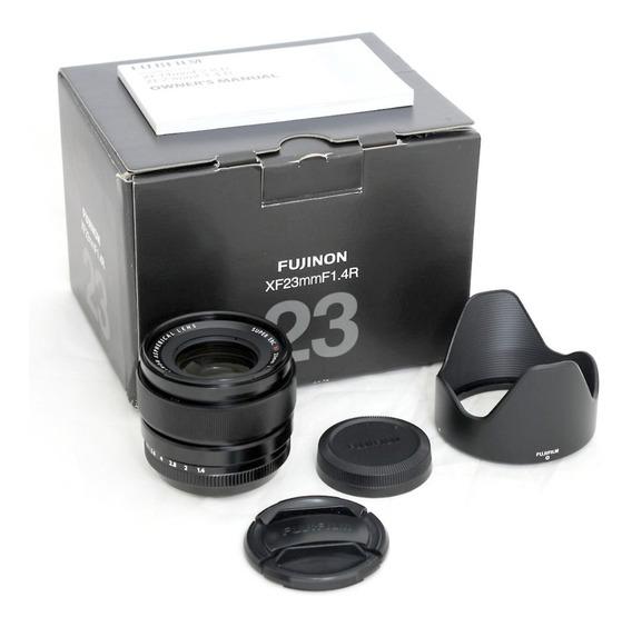 Lente Fuji Fujifilm Xf 23mm F/1.4 R (nota 8,5) Completa