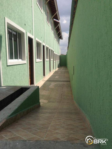 Sobrados Novos Em Condomínio Fechado No Bairro Da Penha. - So0686
