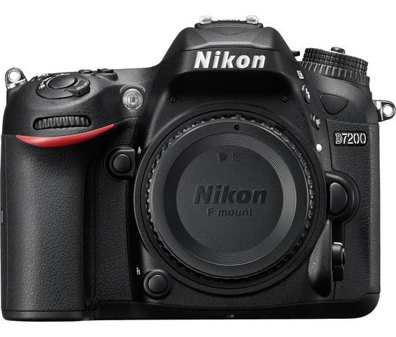 Câmera Nikon D7200 (corpo) - Pronta Entrega 12x S/ Juros